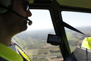 Pipeline inspection from the air