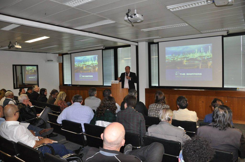 The Sniffers and Enesens at LDAR seminar CETESB Brazil