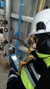 Compressed air and vacuum leak detection