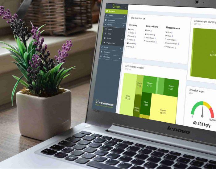 Emission management software